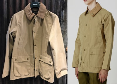 Barbour BEDALE SL Peached