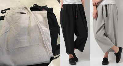 GRAMICCI W'S COTTON-LINEN BALLOON PANTS