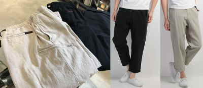 GRAMICCI COTTON-LINEN RESORT PANTS