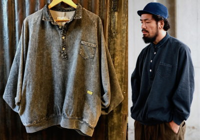NATAL DESIGN DENIM SWEAT POLO B.I.G