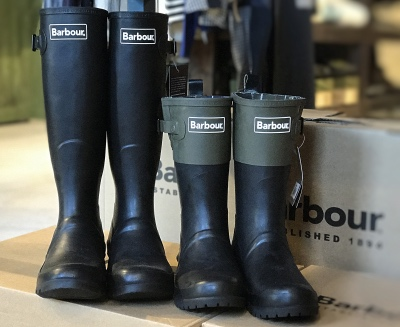 Barbour Bede&Short Colour Block Welly