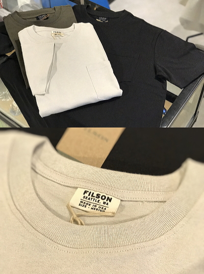 FILSON SOLID ONE POCKET T-SHIRT