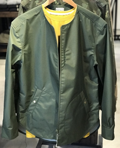 Natural bicycle Nylon No Collar Blouson
