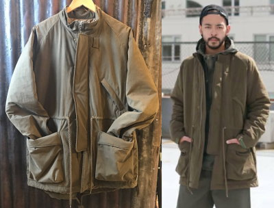 Natural bicycle Sound Hole Puff Coat