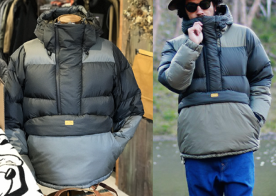 NATAL DESIGN PULLOVER DOWN JACKET