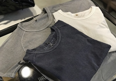 Nigel Cabourn WOMAN Crew Neck T-Shirt