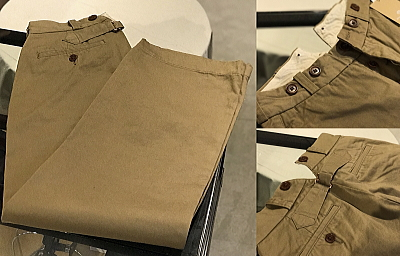 Nigel Cabourn WOMAN BASIC MILITARY CHINO