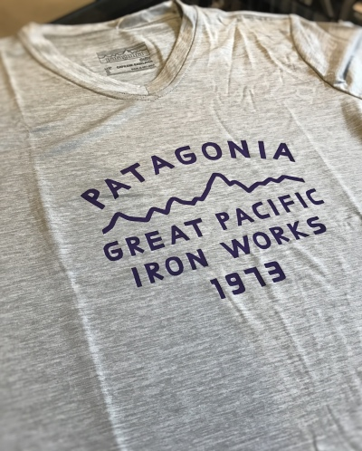 Patagonia W'sキャプリーン・デイリー・グラフィック・Tシャツ
