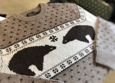 PENDLETON Bear Sweater