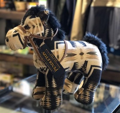 PENDLETON Stuffed Animal Horse